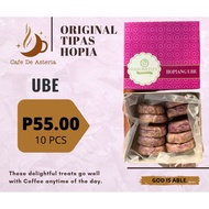 ORIGINAL TIPAS -UBE AND UBE PASTILLAS HOPIA- FROM TAGUIG (RIBBONETTE'S, D'ORIGINAL, KIRBY'S)