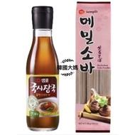 <韓國大媽>韓國膳府 日式蕎麥麵300g/鳀魚海帶風味麵條湯料345ml