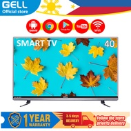 (SMART TV) 40 inch sale GELL Smart TV  flat on sale screen tv  FHD TV Android LED TV  Multiport GELL-SMART40E (Built-in Netflix/YouTube)