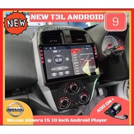 🎁NEW T3L🎁Nissan Almera 2015-2019 10inch Android Player🔥RADIO FM CLEAR🔥T3L HD IPS DSP Voice Control Command