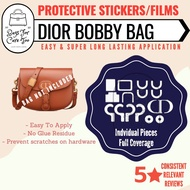 Dior Bobby hardware protective stickers to prevent scratches and stains   bag care