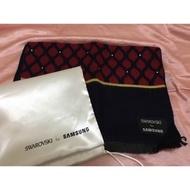 三星-施華洛世奇貼鑽時尚圍巾