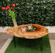 Wood Slab Epoxy Resin Coffee table / Side table - PRODUCT MALAYSIA