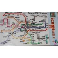 台北捷運路線圖 iCASH悠遊卡