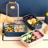 保溫飯盒 304不銹鋼保溫飯盒上班族學生雙層分格便當盒午餐盒可微波爐加熱