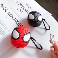 Air pods保護套-蜘蛛人(紅.黑)