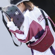 casual adidas issey miyake couple waist bag