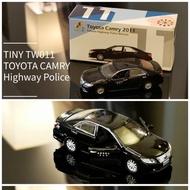現貨 老周微影 Tiny 偵防車 台灣限定 國道 公路警察局 Tw11 台灣車款 Toyota Camry 2011