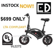 DYU ESCOOTER (UL2272 CERTIFIED) WITH CERTIFIED UL CHARGER LOCAL SELLER