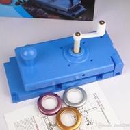 Mesin penebuk lubang eyelet langsir Manual Blue Curtain Hole Eyelet Puncher