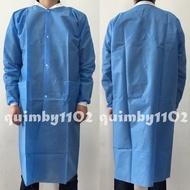 前扣式 拋棄式隔離衣 不織布牙醫拋棄式手術衣醫師袍式