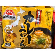 日本 山本製粉 咖哩烏龍麵180*2包入