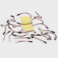 4Pcs 4W COBชิป24 LedไฟLEDภายในรถT10 FestoonโดมBA9Sอะแดปเตอร์12V,ขายส่งรถLEDแผงร้อนขาย