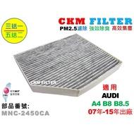 【CKM】奧迪 AUDI A4 S4 B8 B8.5 超越 原廠 正廠 活性碳冷氣濾網 粉塵濾網 空氣濾網 粉塵 靜電