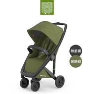 【荷蘭Greentom】Classic經典款-經典嬰兒推車(尊爵黑+探險綠)