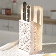 【YAMAZAKI】Kirie典雅雕花刀具砧板架-粉★餐廚收納/廚具收納/廚房收納