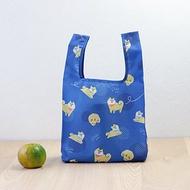 【美日袋】環保購物袋-調皮柴犬 (便當袋/小提袋)-可摺疊收納