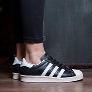 【Foot Boy】Adidas Originals Superstar 80s 黑白 金標 奶油底 男女 G61069