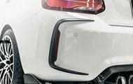 供BMW F87 M2 competition後部保險杠使用的謡言擾流器真貨DryCarbon幹燥碳 meteo