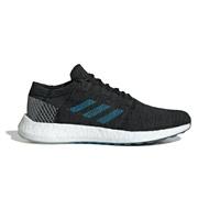 ADIDAS【EF7634】PureBOOST GO 慢跑鞋 運動 Boost底 針織 黑灰藍 男生
