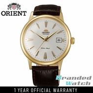 Orient FAC00003W Man Bambino 2nd Generation Automatic Gold Plated Leather Watch AC00003W