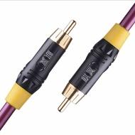 美琪 同軸線75歐鍍銀4a音頻線spdif (直購價為0.5米)