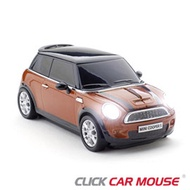 【Click Car Mouse】MINI Cooper S 無線nano滑鼠-橘色款