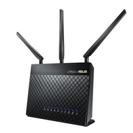 華碩 雙核心機王! RT-AC68U 雙頻AC1900 Gigabit無線路由器(5dbi三支天線/適用120坪透天厝)(AiMesh新版本)