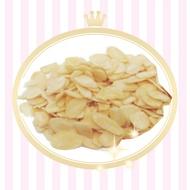 美國加州生杏仁片200g~600g 杏仁薄片 可磨粉 烘焙材料 西點