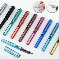 EZlife正姿卡式吸墨金屬質感鋼筆對筆組(贈指尖陀螺支架)