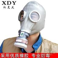防毒面具防塵 全面罩噴漆專用 消防軍 化工油煙甲醛勞保防毒面罩 自由角落