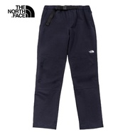 【The North Face】The North Face北面男款深藍色防潑水休閒長褲 4NGZRG1