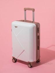 20''22/24/26/28นิ้วกระเป๋าเดินทางแบบลาก2PCS ชุดกระเป๋าเดินทางกระเป๋าเดินทางบนล้อกระเป๋าลากผู้หญิงกระเป๋าเดินทางพร้อมชุดกระเป๋าเครื่องสำอาง