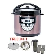SINCERO Rose Gold 6L Pressure Cooker