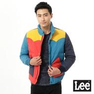 Lee 拼接印花羽絨外套