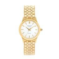 Orient 3 Voltage Couple Watch Women Metal Wristwatch OT5005FFC