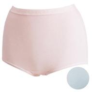 【華歌爾】新伴蒂內褲M-3L高腰三角款(淺水藍)