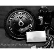 Hub motor scooters kit set