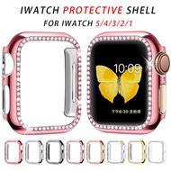 กันชนเพชรสำหรับAppleกรอบนาฬิกาSeries 5 4 3 2 1 38มม.42มม.กรณีสำหรับI 5 4 40มม.44มม.นาฬิกาอุปกรณ์เสริม