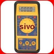 ☆SIVO電子商城☆台灣製造 KILTER360 /KILTER 360 三用電錶 驗電功能型 KT-360