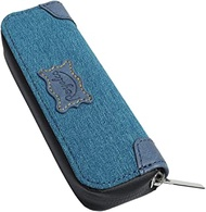 Yagghe Travel Carrying Case for Pod System Vape JUUL Kit, Small Enclosed Pouch Storage Protective Case Cute Organizer Bag Fits in Pocket or Bag (Blue)