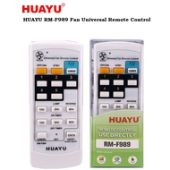 HUAYU RM-F989 Universal Fan Remote Control for all Ceiling, Wall, Table & Stand Fan - Universal KDK Fan Remote Control