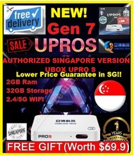 ♛★100% CHEAPEST TV BOX★UNBLOCK Tech UBOX Gen 7 UPROS 2GB+32GB SG Local Version. Spore Local Warranty