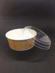 【免洗餐具】《900便當盒》扁湯杯 紙碗『圖案隨機』(600個/箱)