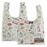 ﹝三代﹞murmur 哆啦A夢 小叮噹 筆繪 便當袋 摺疊購物袋 購物袋 手提袋 飲料袋 隨身購物袋 小購物袋 摺疊袋