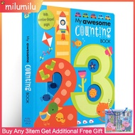 [Original English Books My Awesome Counting Book 123 Alphabet Picture Books for Children's Education,Original English Books My Awesome Counting Book 123 Alphabet Picture Books for Children's Education,]