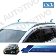 Honda Mobilio Roof Rail Activo Silver / Aksesoris Eksterior Mobilio