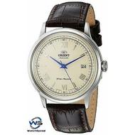 Orient SAC00009N0 Automatic Bambino Japan White Dial Men's Watch