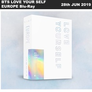 BTS World Tour 'LOVE YOUR SELF' EUROPE Blu-ray 2Discs+Photobook+Photocard+Etc
