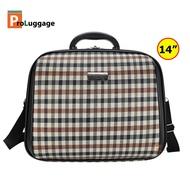 กระเป๋าเดินทาง กระเป๋าสะพายข้าง พร้อมหูถือ สอดคันชักกระเป๋าเดินทาง 14 นิ้ว Travel Folding Bag รุ่น MZ489
